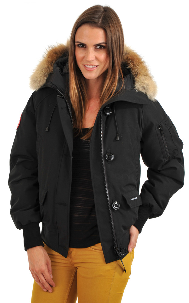 blouson chilliwack noire femme canada goose. Black Bedroom Furniture Sets. Home Design Ideas