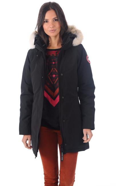 Canada Goose vest sale fake - Parka Victoria Black Canada Goose - La Canadienne - Doudoune ...