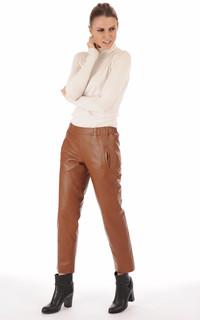 Pantalon  esprit chino caramel
