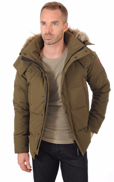 Parka Wyndham Military Green1