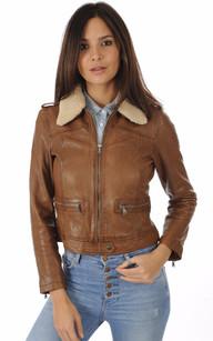 Femme Tous Les Aviateur Cuir Styles En Vêtements Et Blousons Rt11wqEn