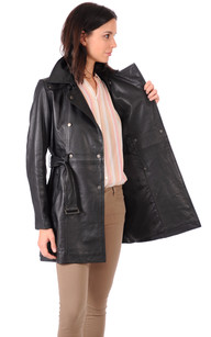 Trench Cuir Femme Selena
