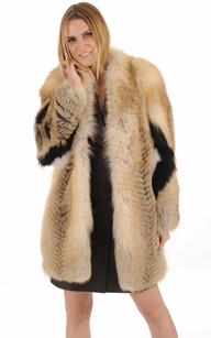 Manteau en Renard Femme