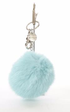 Porte Clef Lapin Bleu Ciel
