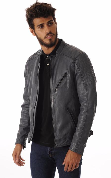 Oakwood Homme   Blouson cuir, veste en cuir Oakwood - La Canadienne dce27838acfd