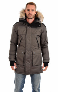 Parka Yatesy Steel Grey