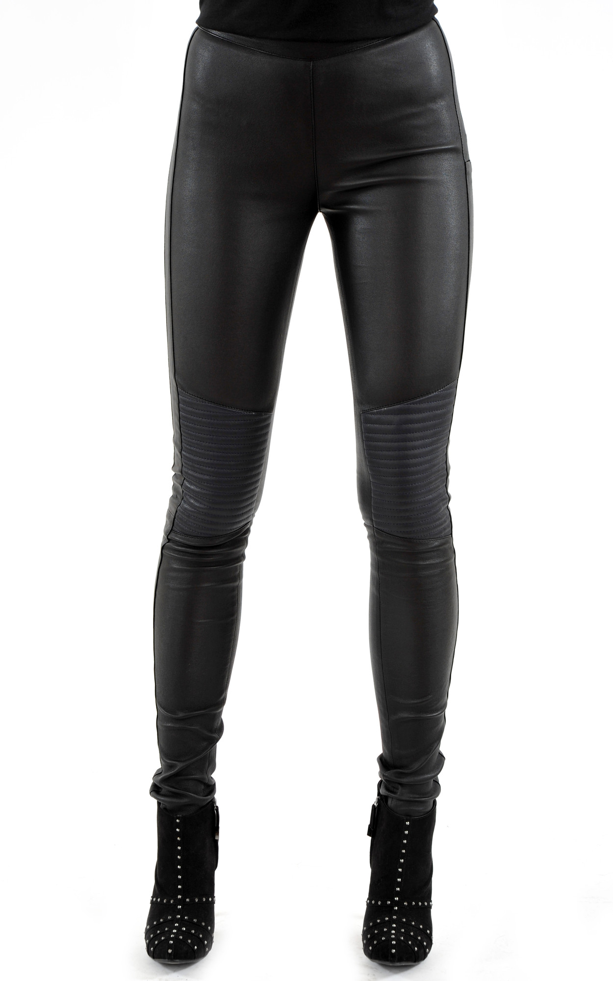 Legging Cuir d'Agneau Stretch1
