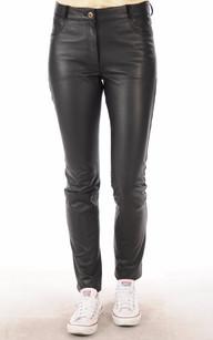 Pantalon Cuir Coupe Slim1