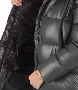 Doudoune Oversize Verte Textile Femme Kanuk