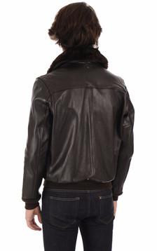 Blouson cuir vachette 174s