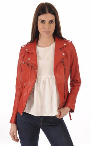 Collection Cuir Femme - La Canadienne, blousons cuir, vestes et ... 19ce963527c2