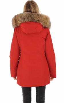 Parka Arctic rouge femme