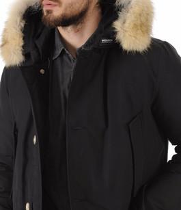 Parka Avec Fourrure Homme Artic Noir Woolrich
