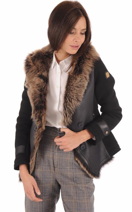 best cheap new cheap buy popular Aeronautica Militare Femme   Blousons et vestes en cuir pour ...