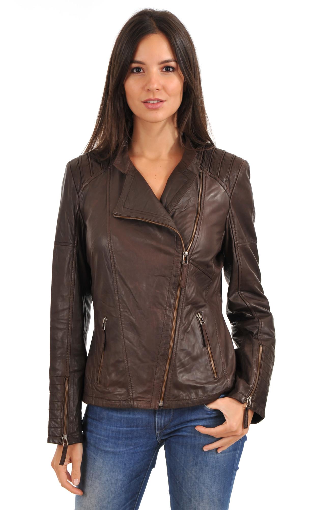 Ou acheter veste en cuir femme
