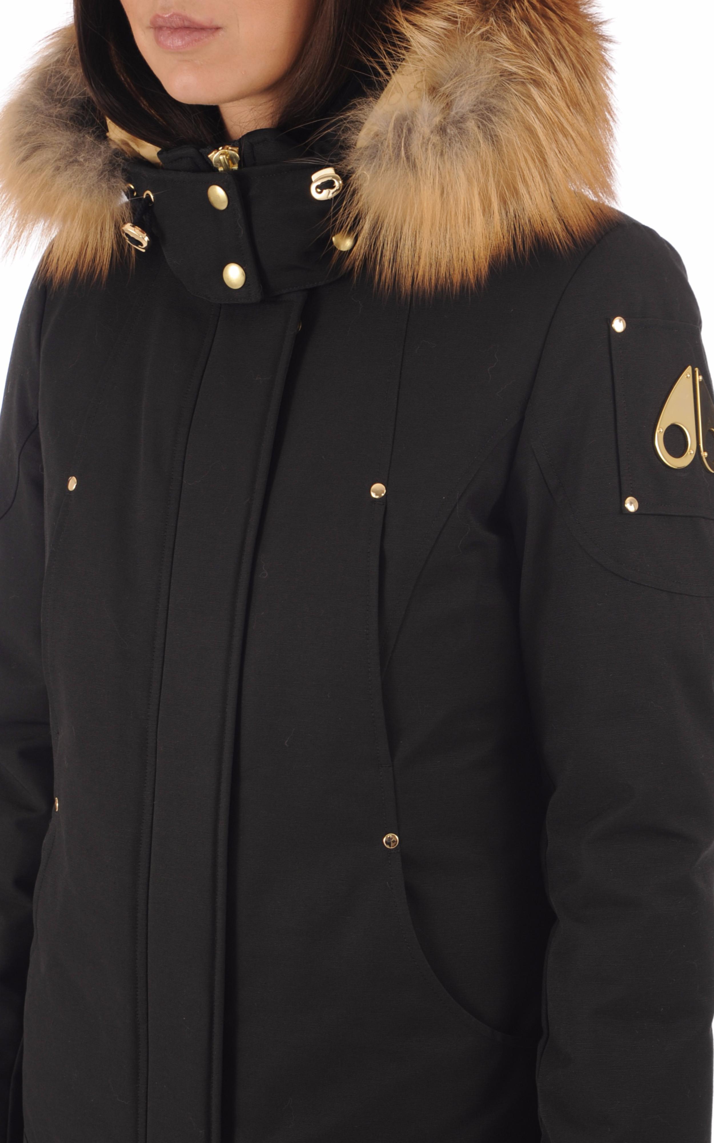 Doudoune noire femme Moose Knuckles