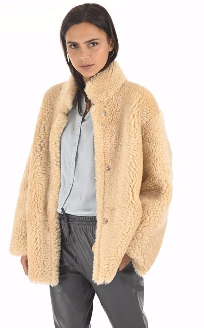 Veste peau lainée réversible La Canadienne