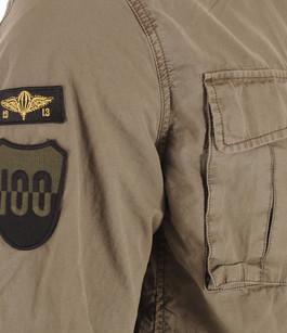 Veste Militaire Cooper Kaki Schott