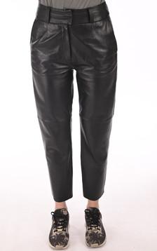 Pantalon agneau noir