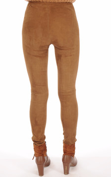 Legging Asteroid Velours Stretch Cognac