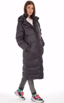 Doudoune longue Alix noire1