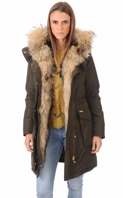parka chaude military eskimo kaki femme woolrich la canadienne doudoune parka textile kaki. Black Bedroom Furniture Sets. Home Design Ideas