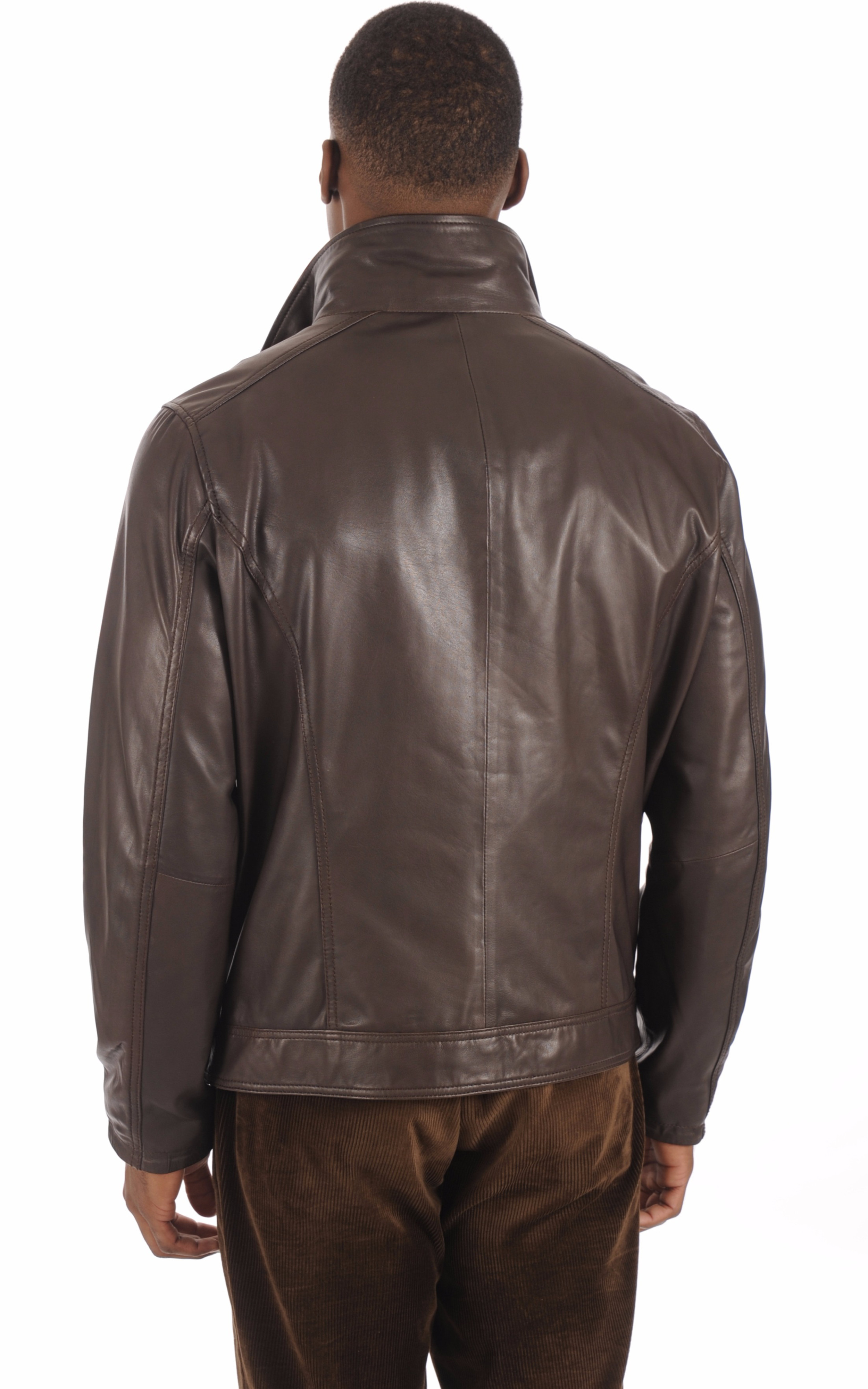 Blouson Confortable Marron Homme Daytona 73
