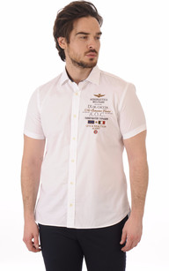 Chemise Blanche A.O.C Manches Courtes