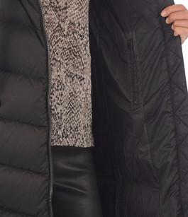 Doudoune longue noire femme Soia & Kyo
