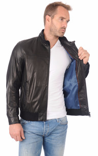 pierre cardin veste cuir homme