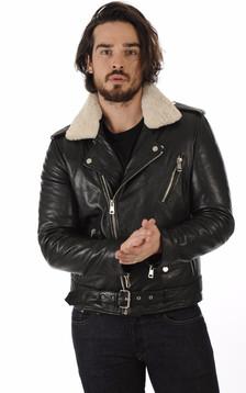 Perf Rocker cuir noir1