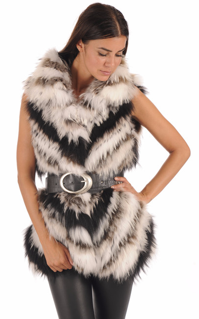 Gilet en Raccoon Femme Foce