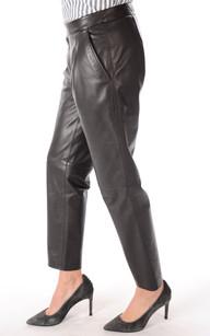 Pantalon Chino Cuir