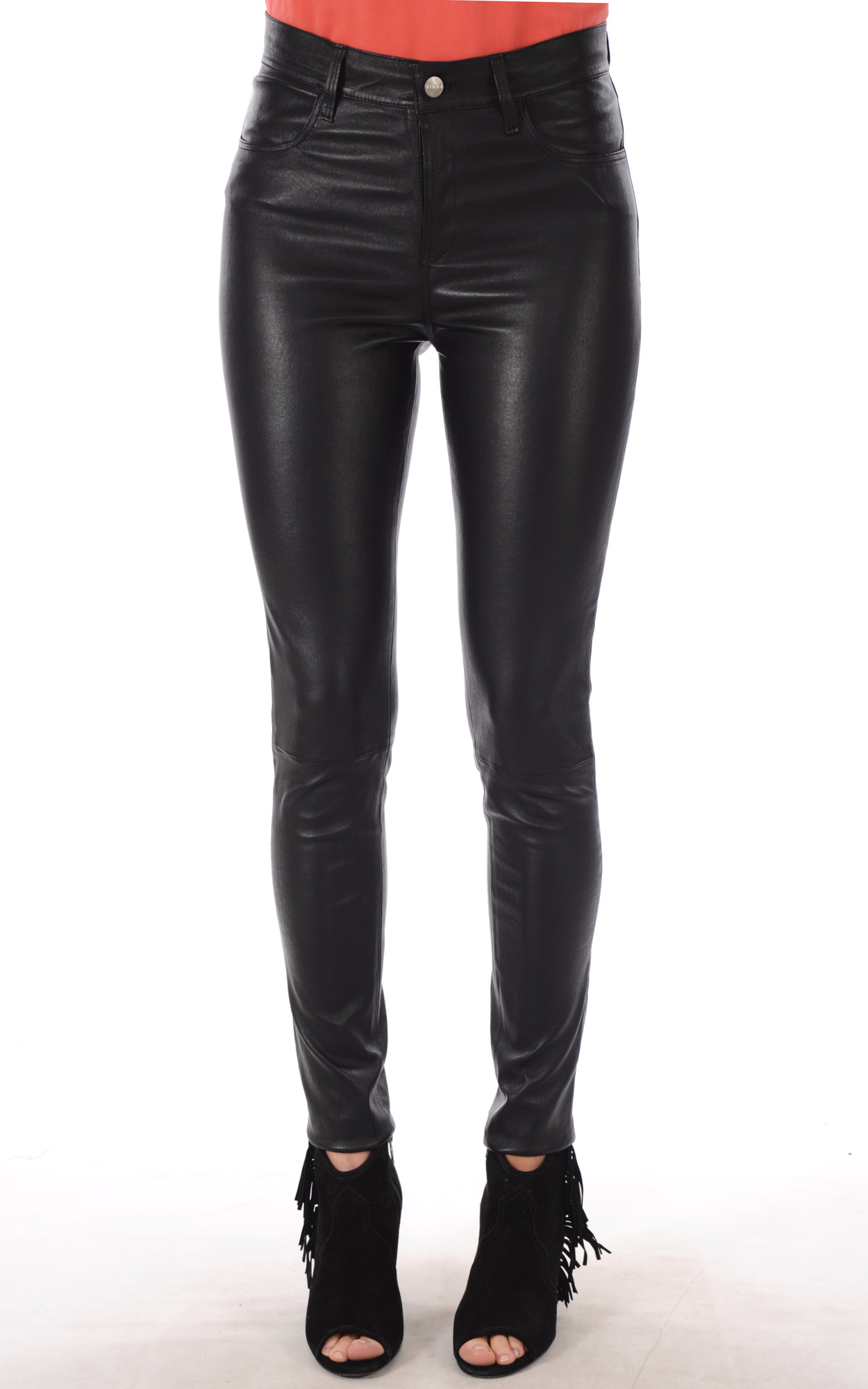 Pantalon Slim Cuir Stretch1