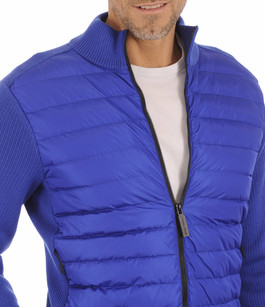 Gilet Hybridge Knit Pacific Blue Canada Goose