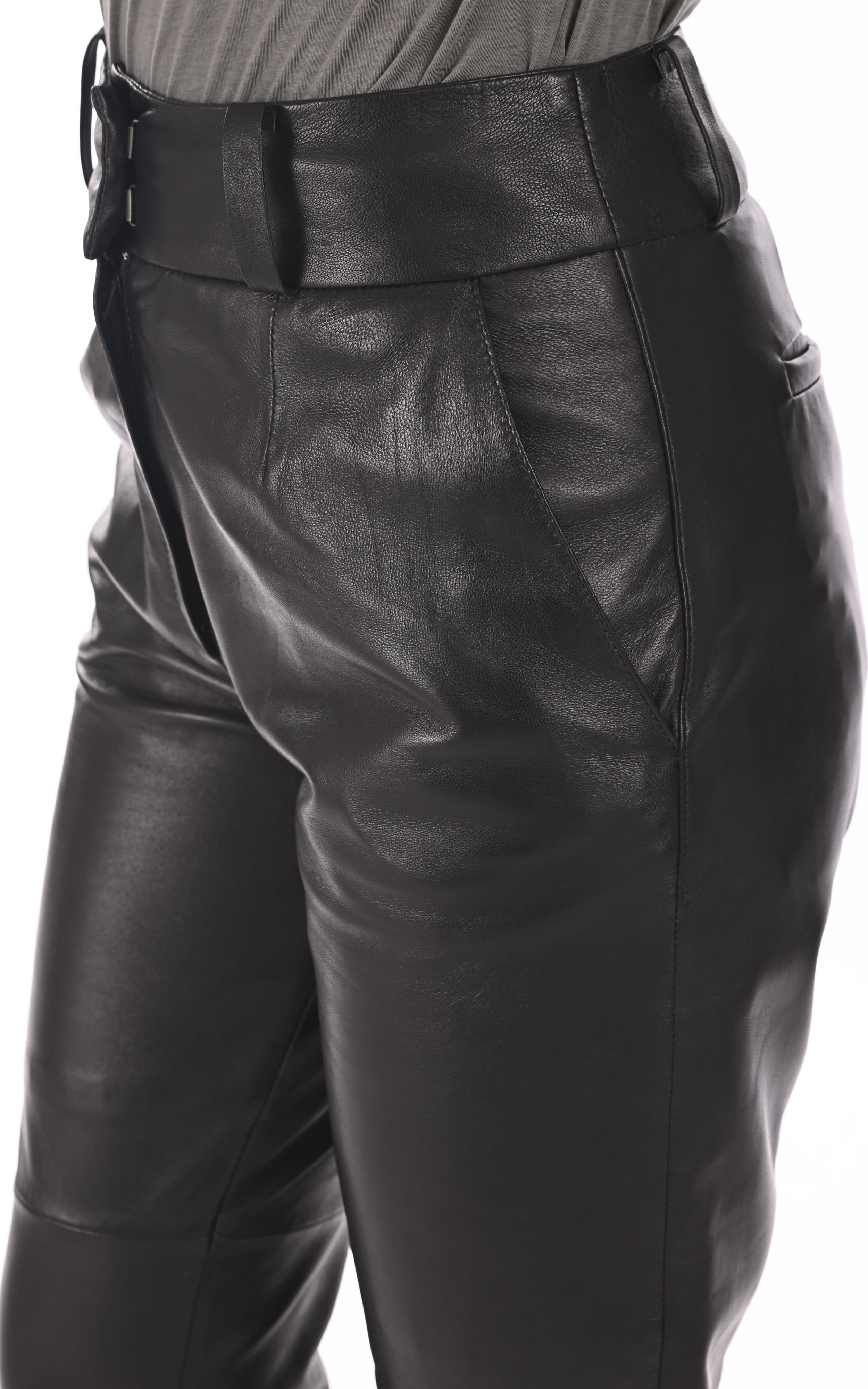 Pantalon agneau noir Oakwood