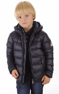 Doudoune Spoutnic Jacket Mat Little Bleu1