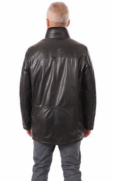 Veste confort cuir chaud