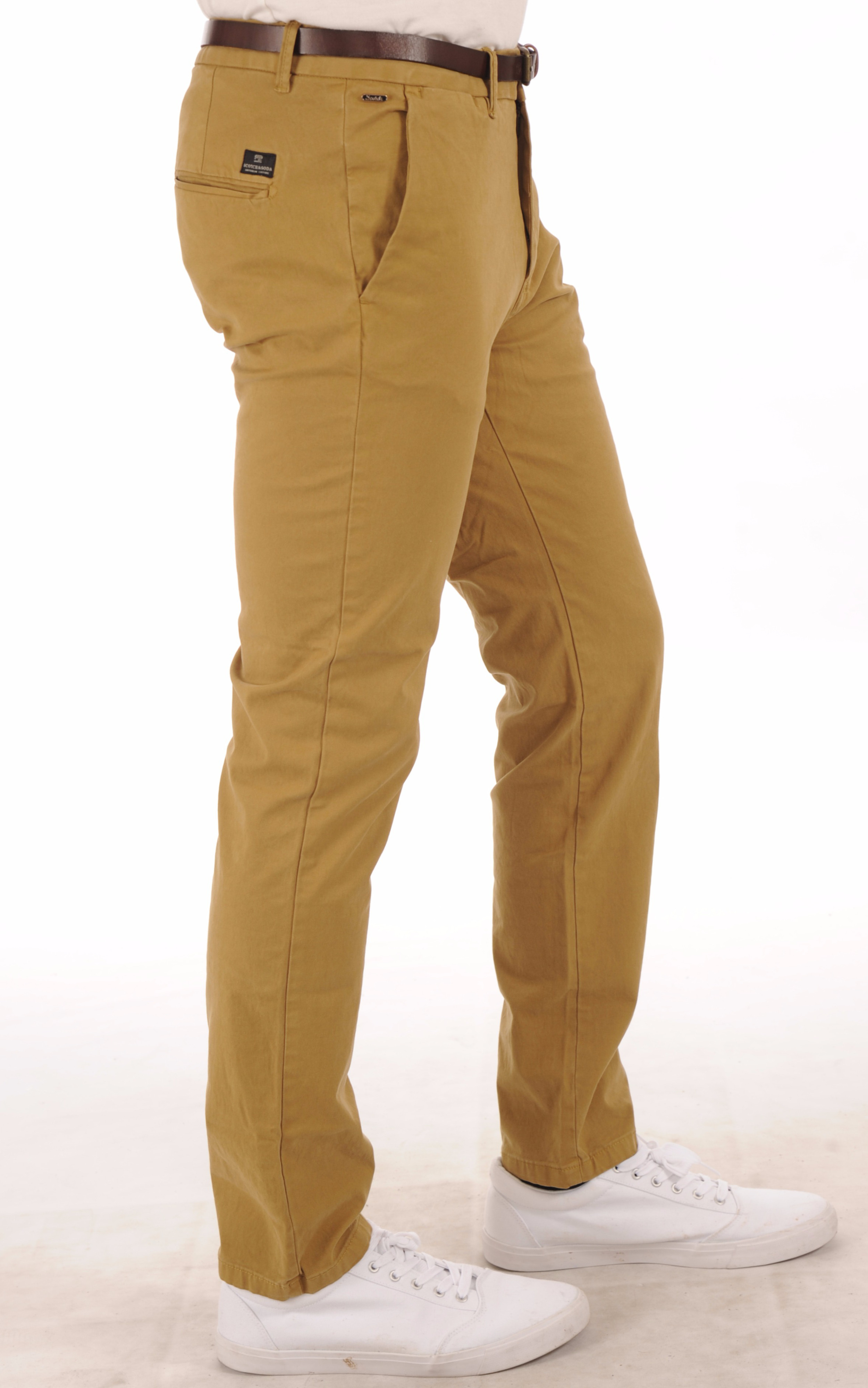 Pantalon Chino Beige Homme Scotch & Soda