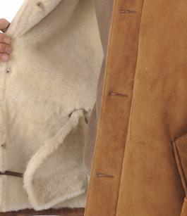 Veste LC Western Mouton Camel Schott