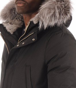 Parka EDWARD-X Black Mackage