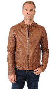 Blouson Homme Tabac1