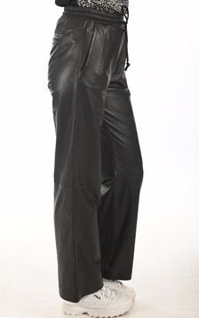 Pantalon large Lia noir