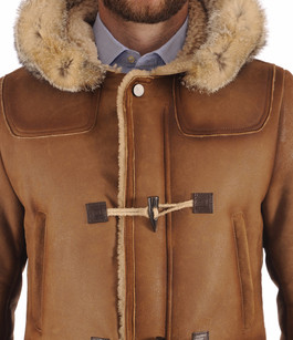 Duffle-Coat en Mouton Patiné La Canadienne
