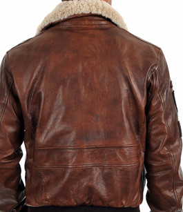 Blouson Aviateur Mythic Marron Daytona 73