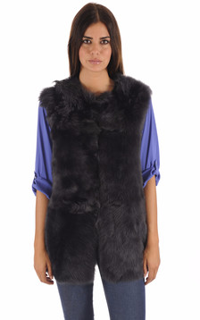 Gilet en Toscane Noir