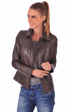Blouson Juliette Marron
