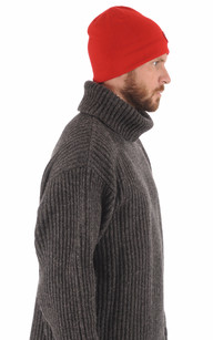 Bonnet Standard Rouge Homme1