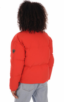 Doudoune Lio rouge femme