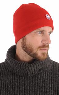 Bonnet Standard Rouge Homme Canada Goose
